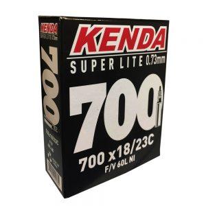 KENDA αεροθάλαμος 700X18/23 S.LIGHT 0.73MM F/V 60MM BOX Action Bikes