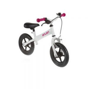 ANLEN Push Bike White Action BIkes