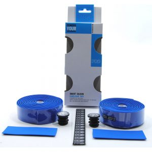 Pro Smart Silicone bar tape Blue Action Bikes