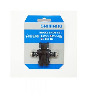 SHIMANO Brake Shoes R55C+1 (S) Action Bikes
