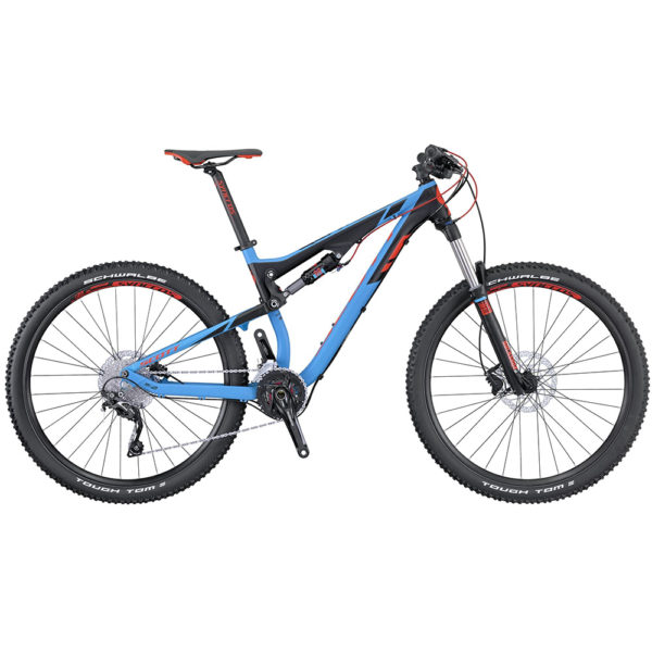 Scott Genius 750 (2016) Action Bikes