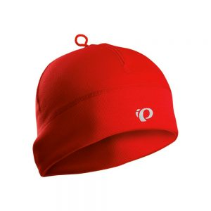 PEARL IZUMI Thermal Run Hat red Actin Bikes