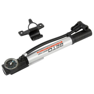Beto Mini Floor Pump 2in1 – 470235 cl Action BIkes