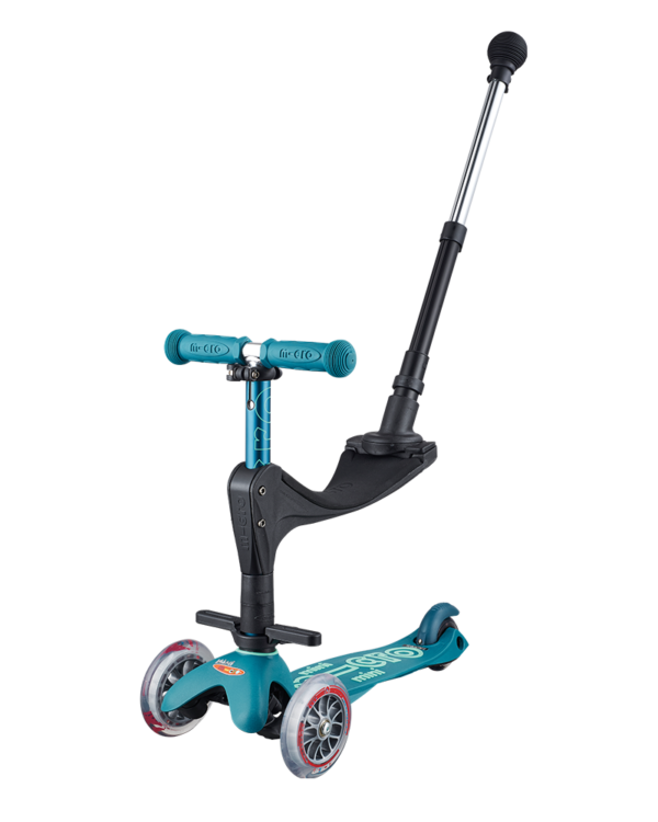 MICRO Mini 3 in 1 Deluxe PLus Ice Blue MMD057 Action-Bikes