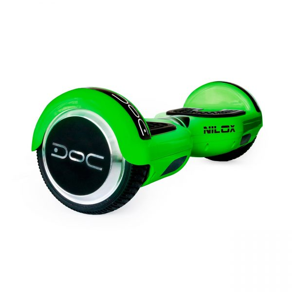 NILOX Doc N Hoverboard Lime-Green Action-Bikes