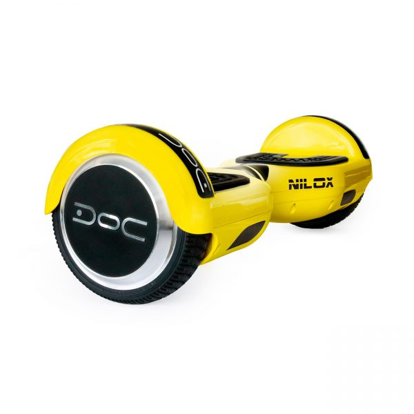NILOX Doc N Hoverboard Yellow Action-Bikes